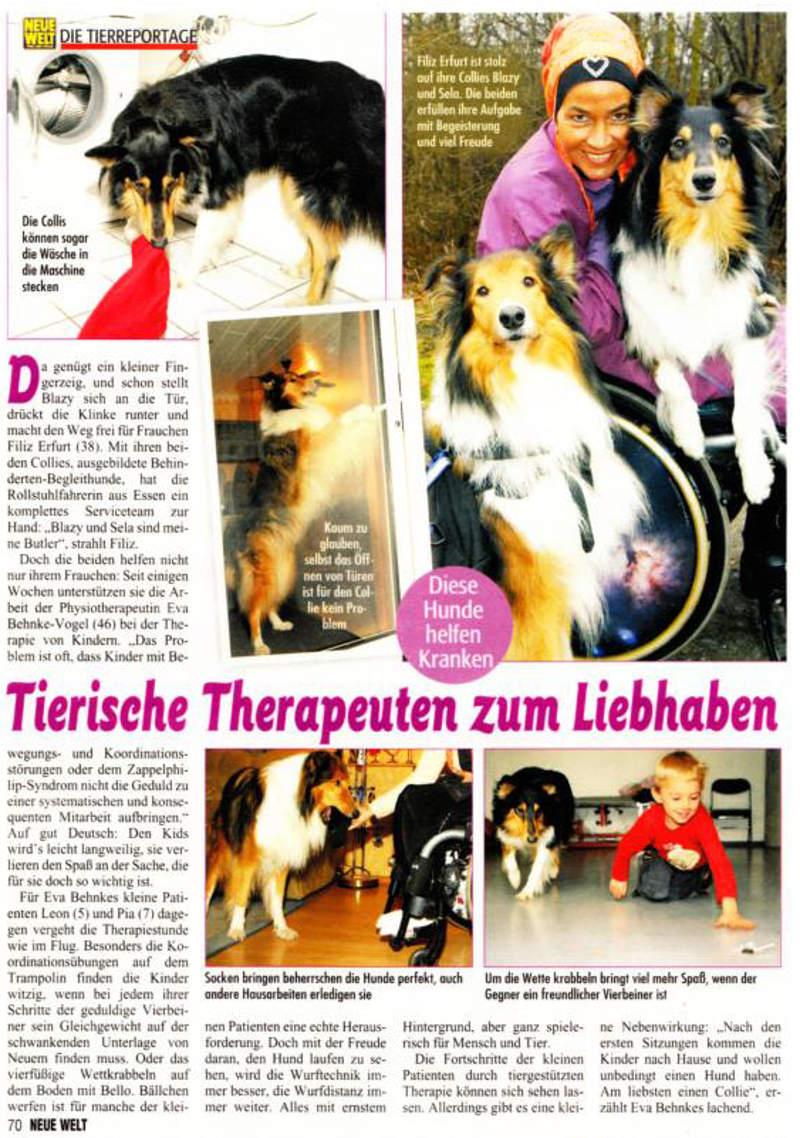 Tierische Therapeuten zum Liebhaben